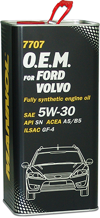 MANNOL 7707 O.E.M. 5W-30 5L ( Ford, Volvo)