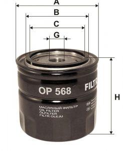 Olejový filtr Filtron OP 568