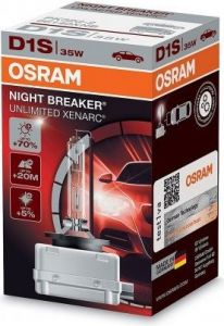 Osram Xenonová výbojka D1S 35W NBR XENARC NIGHT BREAKER UNLIMITED OSRAM 66140XNB