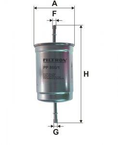 Palivový filtr Filtron PP 866/1