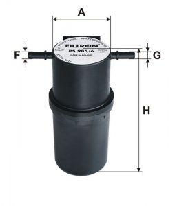 Palivový filtr Filtron PS 985/6