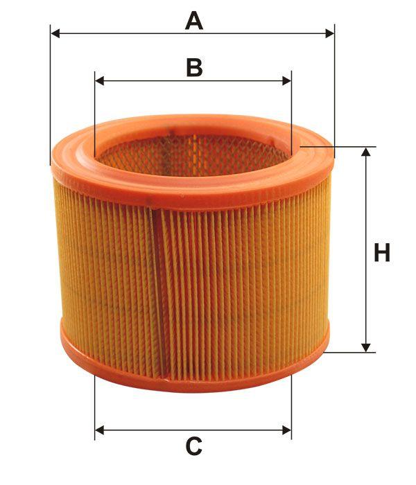 Vzduchový filtr Filtron AR 308