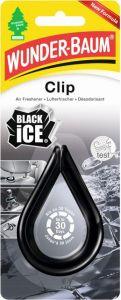 Wunder Baum Clip Car Air - Black ICE