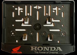 3D Podložka pod SPZ MOTO Honda
