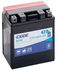 Exide AGM ETX14AHL-BS 12V 12Ah