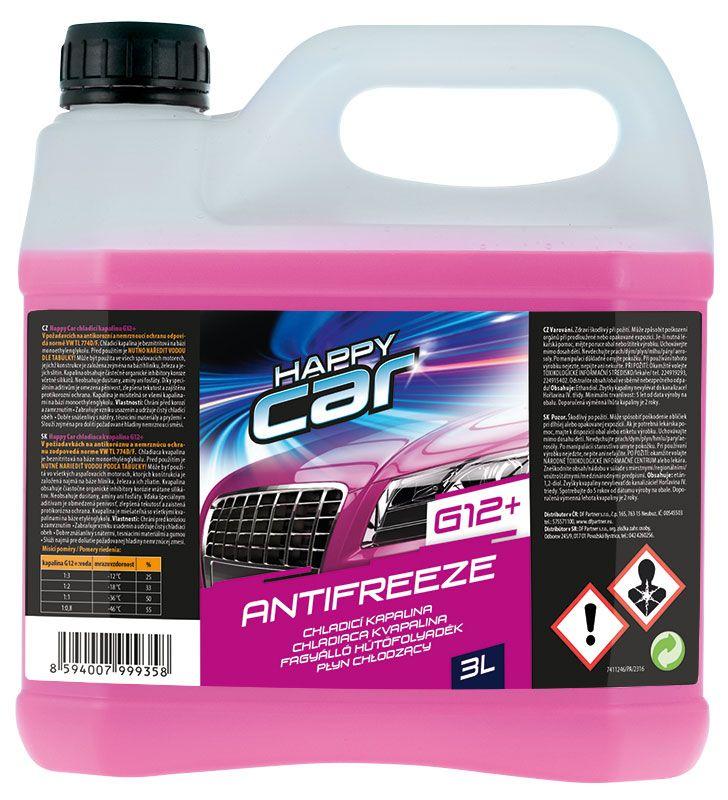 Happy Car Antifreeze G12+ 3L SHERON