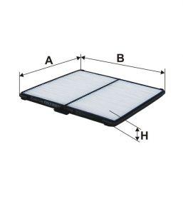 Kabinový filtr Filtron K 1258