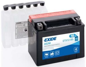 Motobaterie EXIDE ETX12-BS