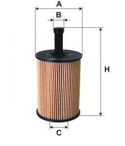 Olejový filtr Filtron OE 650/1