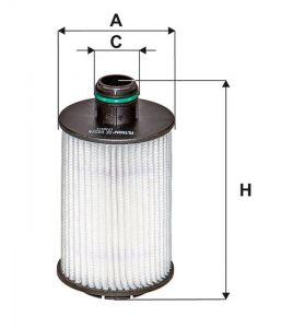Olejový filtr Filtron OE 682/4