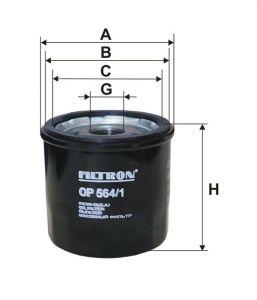 Olejový filtr Filtron OP 564/1