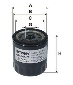 Olejový filtr Filtron OP 644/2