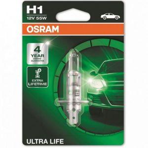 Osram Ultra Life H1 P14,5s 12V 55W