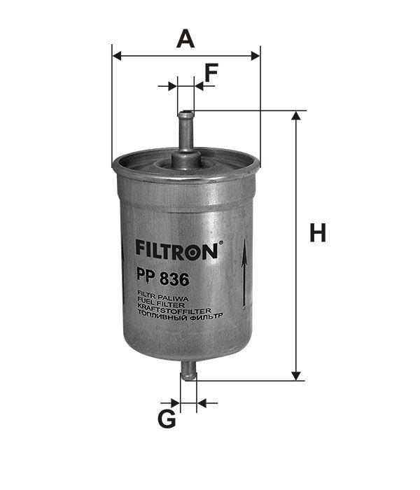 Palivový filtr Filtron PP 836