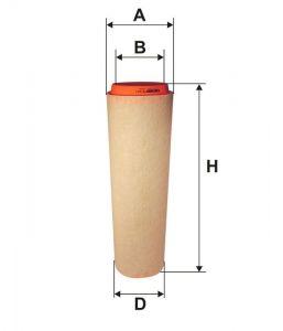 Vzduchový filtr Filtron AK 362/1