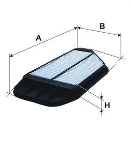 Vzduchový filtr Filtron AP 082/9