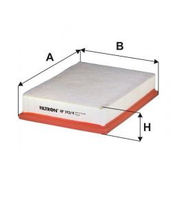 Vzduchový filtr Filtron AP 143/4