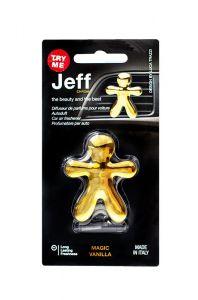 JEFF Osvěžovač Vanilla Gold
