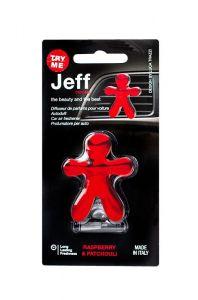 JEFF Osvěžovač Raspberry Red