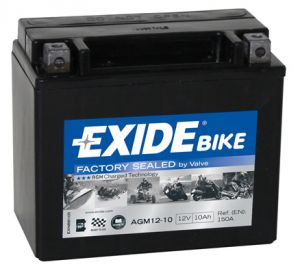 Motobaterie EXIDE AGM12-10