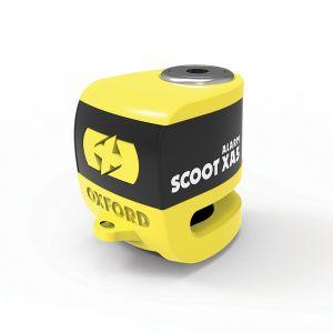 Oxford Scoot XA5 Alarm, žlutá, Kotoučový zámek s alarmem