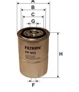 Palivový filtr Filtron PP 853