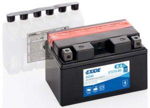 EXIDE ETZ10-BS 12V 8,6Ah 145A