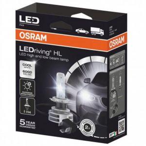 LEDriving HL H4 12/24V 14W P43t Gen2 6000K Cool White 9726CW, SADA 2 ks