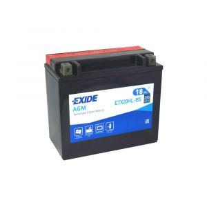Motobaterie EXIDE ETX20HL-BS 12V 18Ah 270A