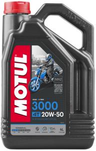 Motul 3000 4T 20W-50 4L