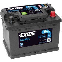 Exide Classic 12V 54Ah 500A EC542
