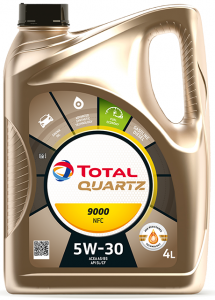 TOTAL Quartz 9000 FUTURE NFC 5W-30 4L