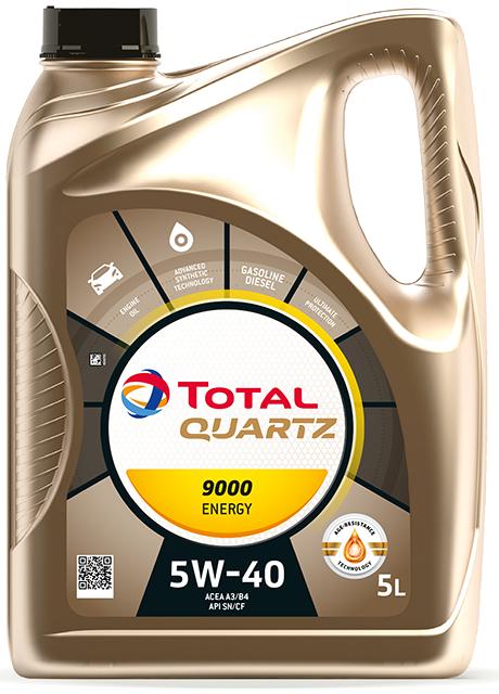Total Quartz Energy 9000 5W-40 5L
