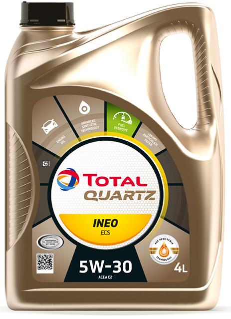 Total Quartz INEO ECS 5W-30 4 L