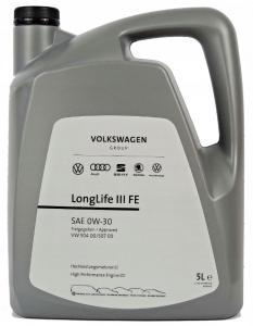 Volswagen LongLife III FE 0W-30 5L