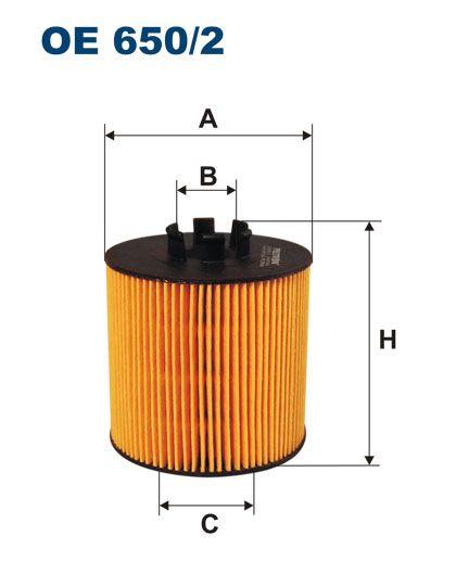 Olejový filtr Filtron OE 650/2