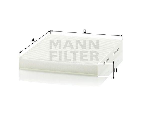 Kabinový filtr Mann-Filter CU 2545