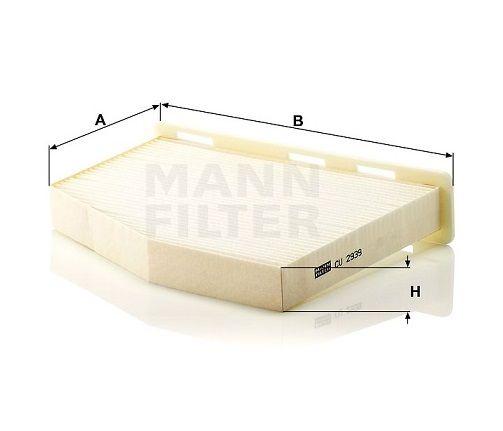 Kabinový filtr Mann-Filter CU 2939