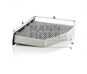 Kabinový filtr Mann-Filter CUK 2939