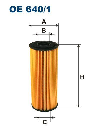 Olejový filtr Filtron OE 640/1
