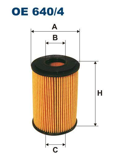 Olejový filtr Filtron OE 640/4