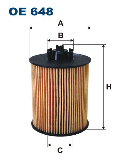 Olejový filtr Filtron OE 648