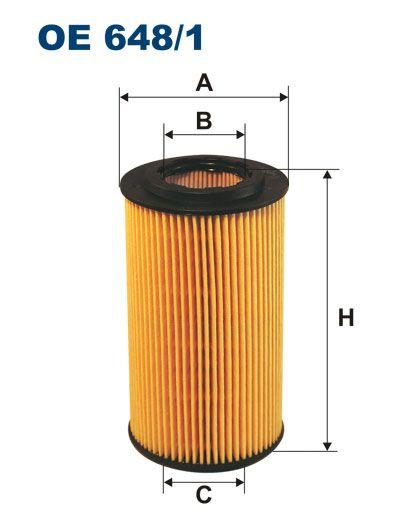 Olejový filtr Filtron OE 648/1
