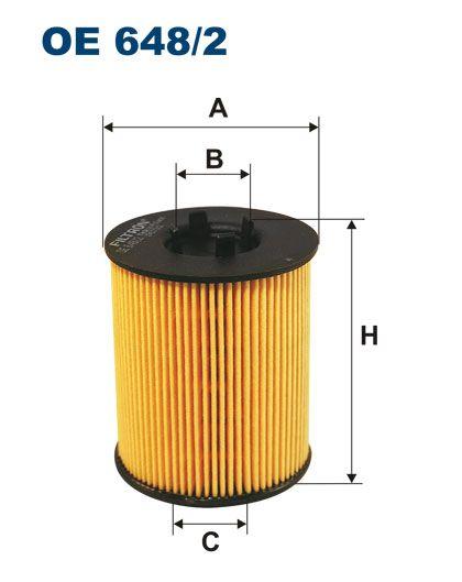 Olejový filtr Filtron OE 648/2