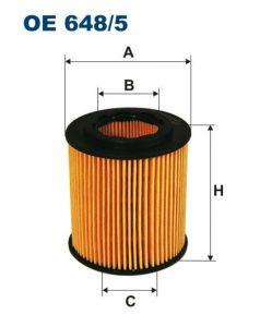 Olejový filtr Filtron OE 648/5
