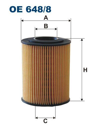Olejový filtr Filtron OE 648/8