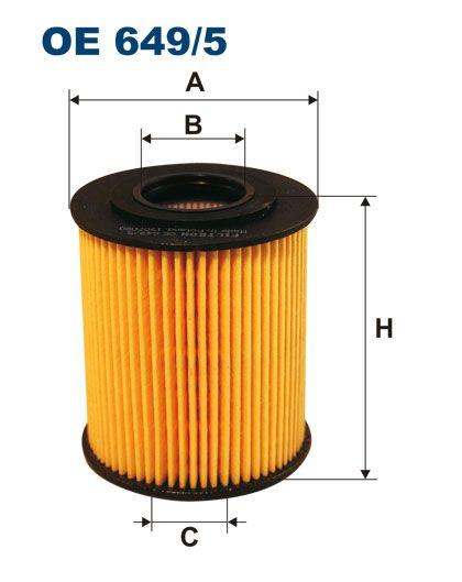 Olejový filtr Filtron OE 649/5