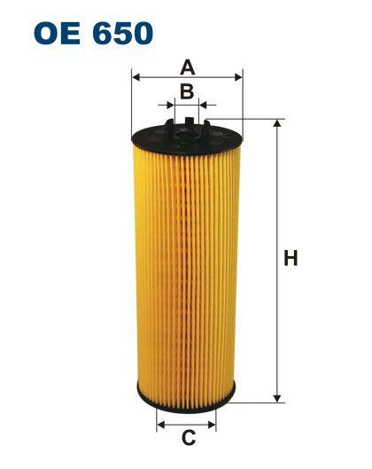 Olejový filtr Filtron OE 650