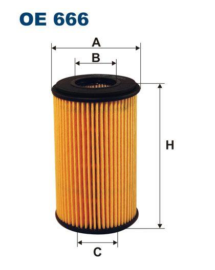 Olejový filtr Filtron OE 666