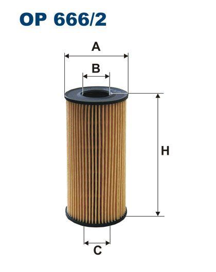 Olejový filtr Filtron OE 666/2